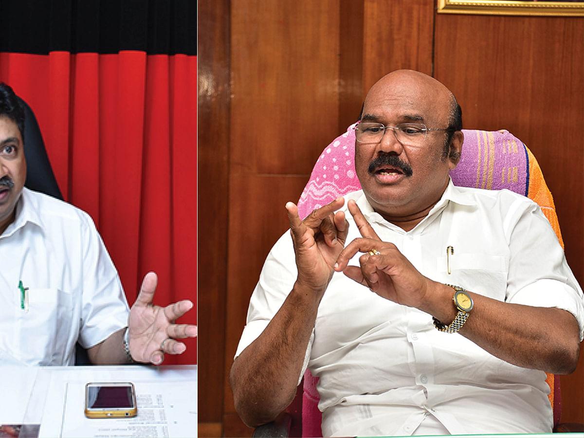 பி.டி.ஆர்.பழனிவேல் தியாகராஜன் - ஜெயக்குமார்