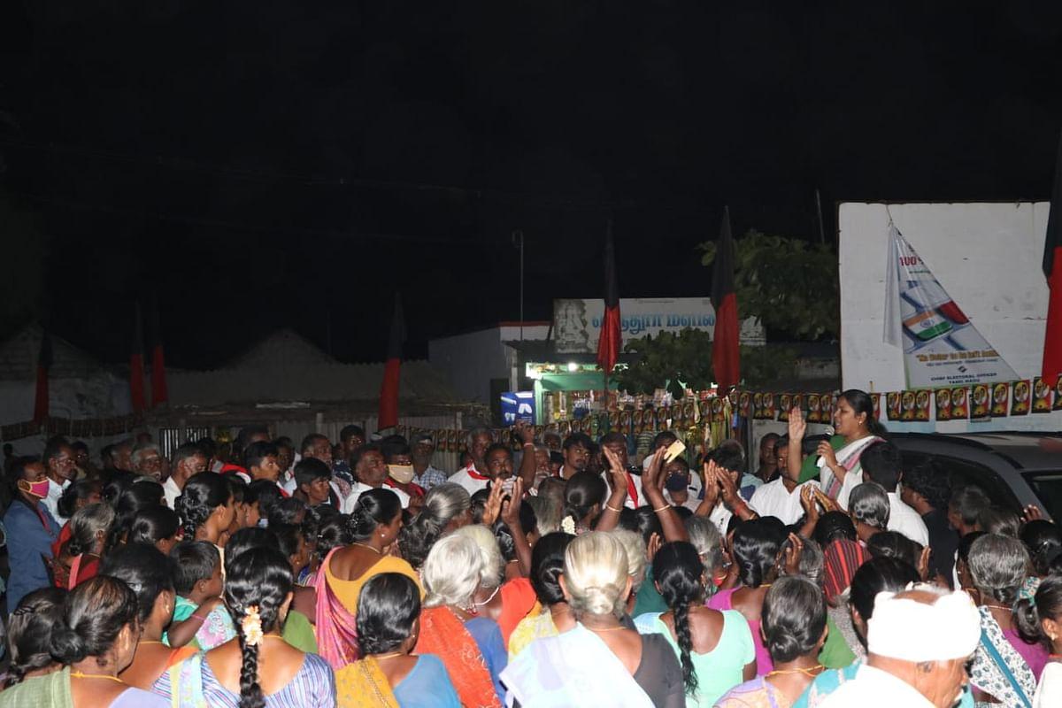 சபரிமாலா பரப்புரை