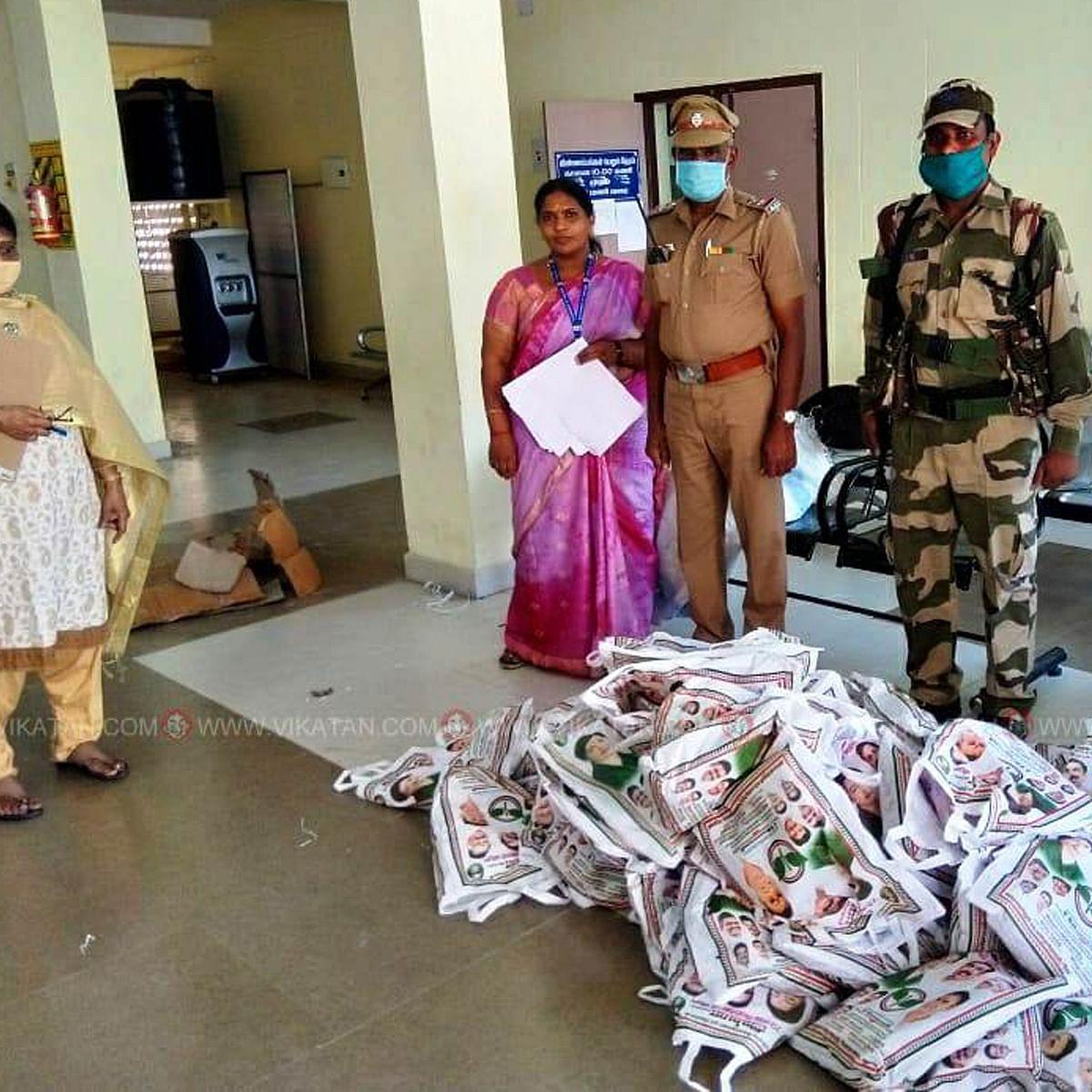 தேர்தல் ஆணையத்தின் `பறிமுதல்' ரிப்போர்ட்!