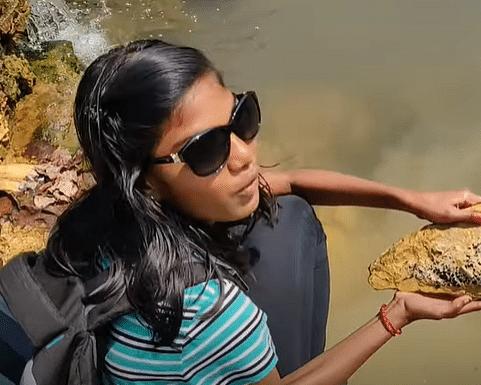 இளம் தொல்லுயிரியலாளர் அஸ்வதா