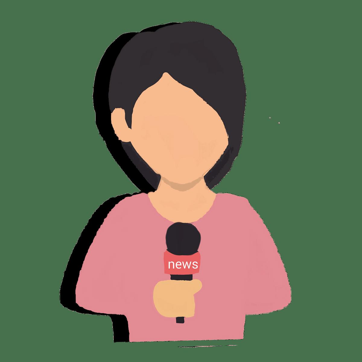 Woman Journalist (Representational image)