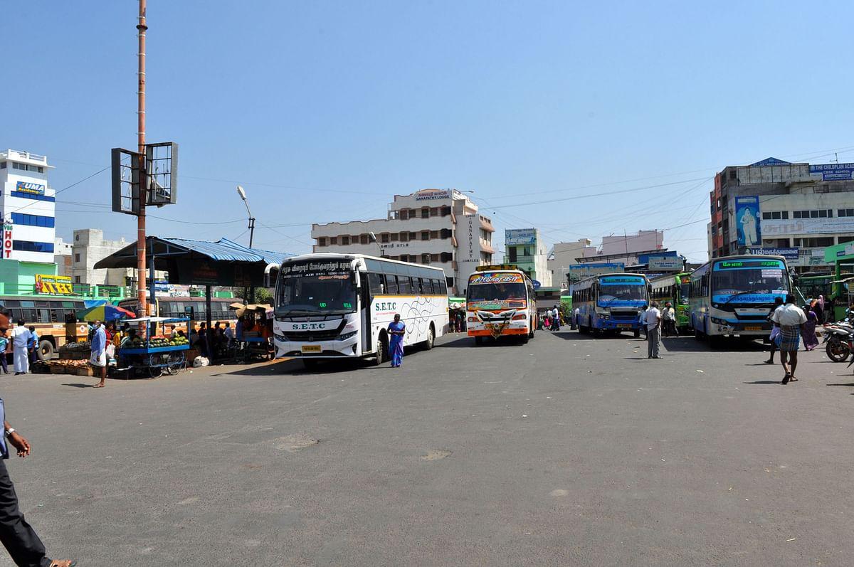 நாமக்கல் பேருந்து நிலையம்