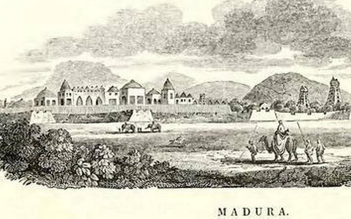 18-ம் நூற்றாண்டில் மதுரை