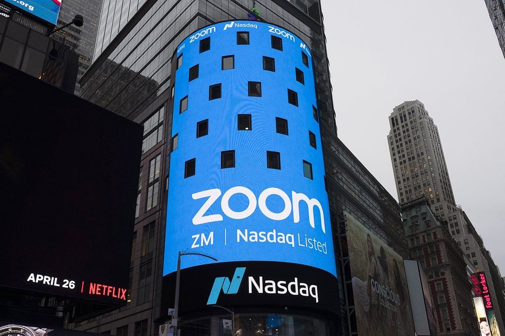 Zoom in Nasdaq Screen