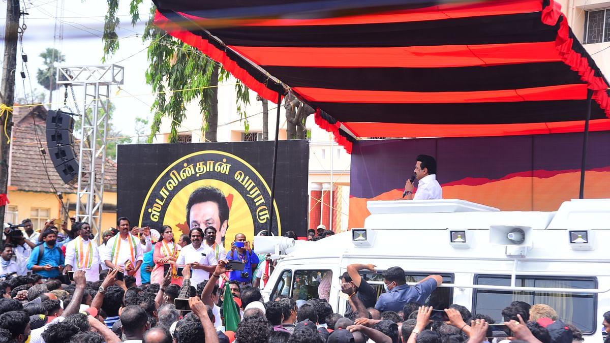 ஸ்டாலின் தேர்தல் பிரசாரம்