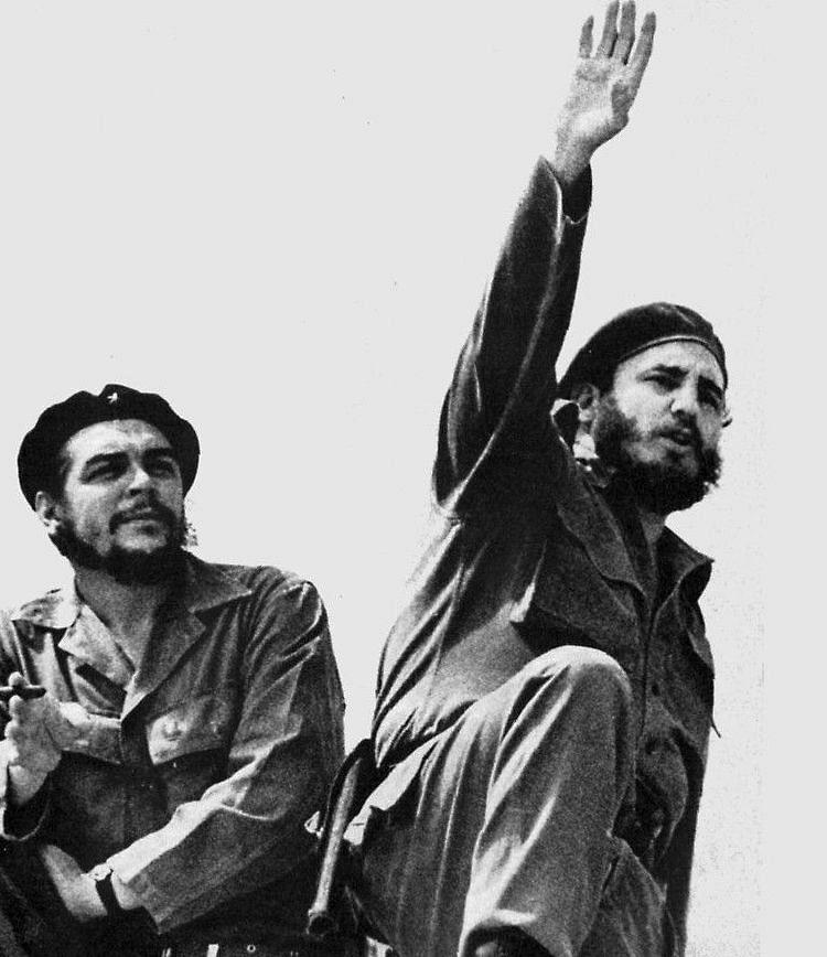 ஃபிடல் காஸ்ட்ரோ (Fidel Castro) & சே குவேரா (Che Guevara)