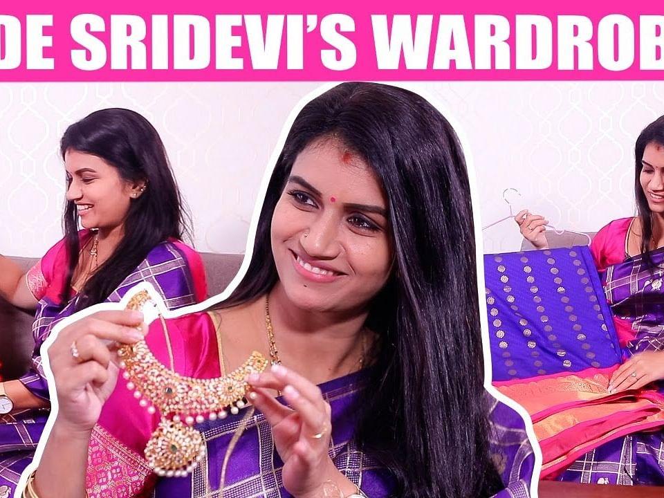 சீரியல்-க்கு போடுற Saree, Jewels இங்கதான் வாங்குவேன்! | Sridevi's Costume Secrets