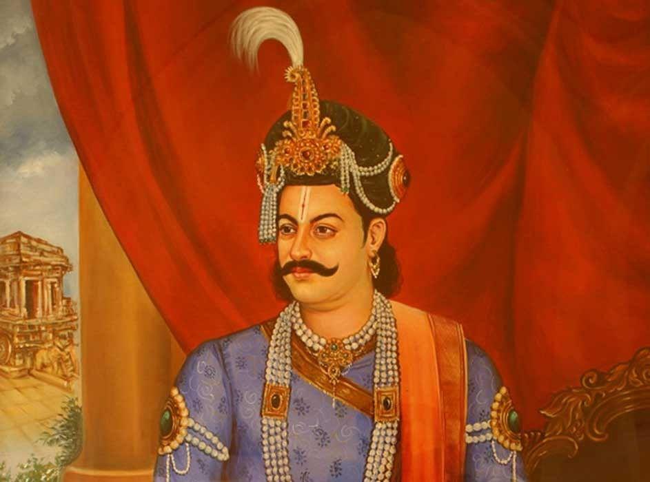 விஜயநகர வேந்தர் கிருஷ்ணதேவராயர்