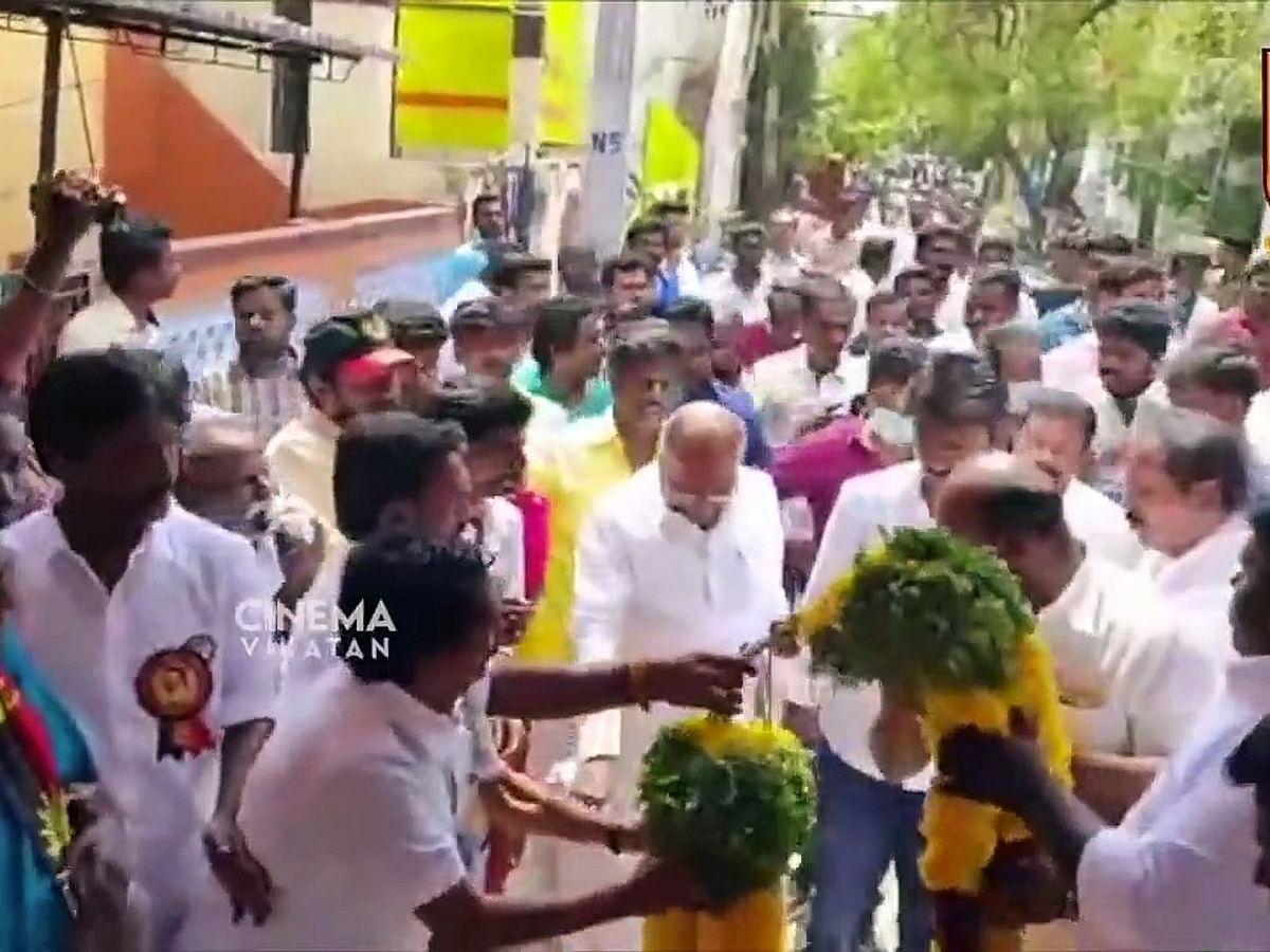 Udhayanidhi Stalin நேரில் சென்று அஞ்சலி   RIP Theepetti Ganesan
