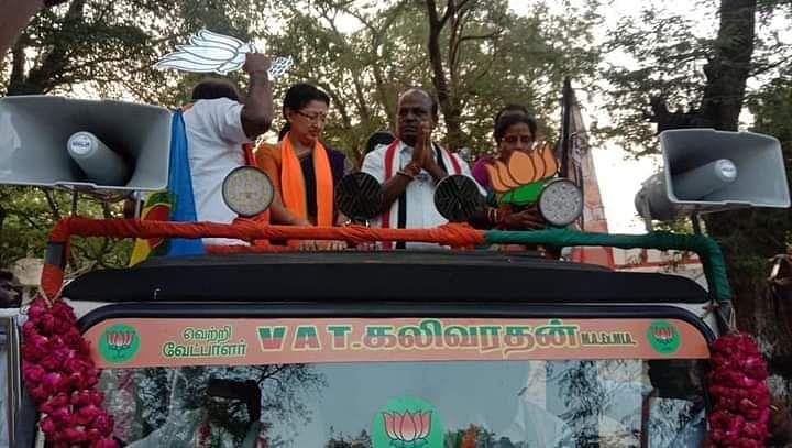 VAT.கலிவரதன் தேர்தல் பிரசாரம்