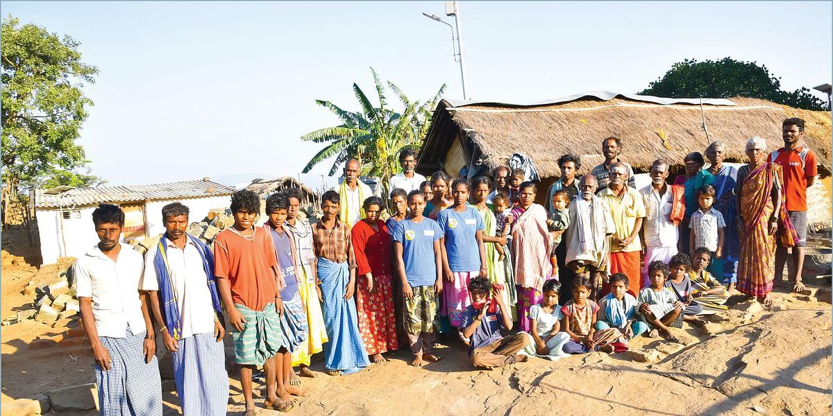 கத்திரி மலை கிராம மக்கள்