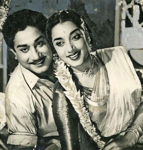 சிவாஜியுடன் ஜமுனா