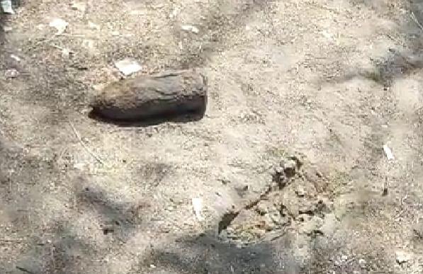 கண்டெடுக்கப்பட்ட ராக்கெட் லாஞ்சர்