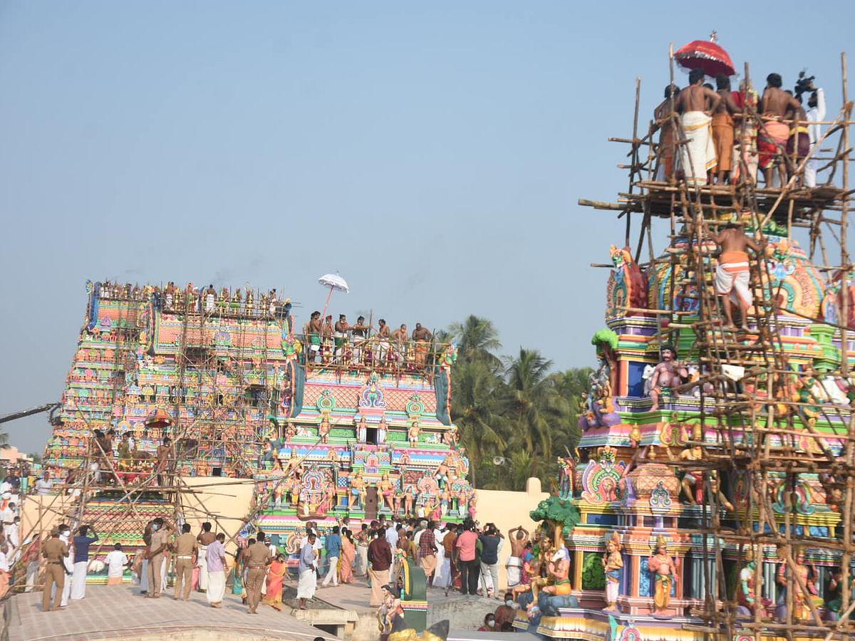 வைத்தீஸ்வரன்கோயில் கும்பாபிஷேகம்