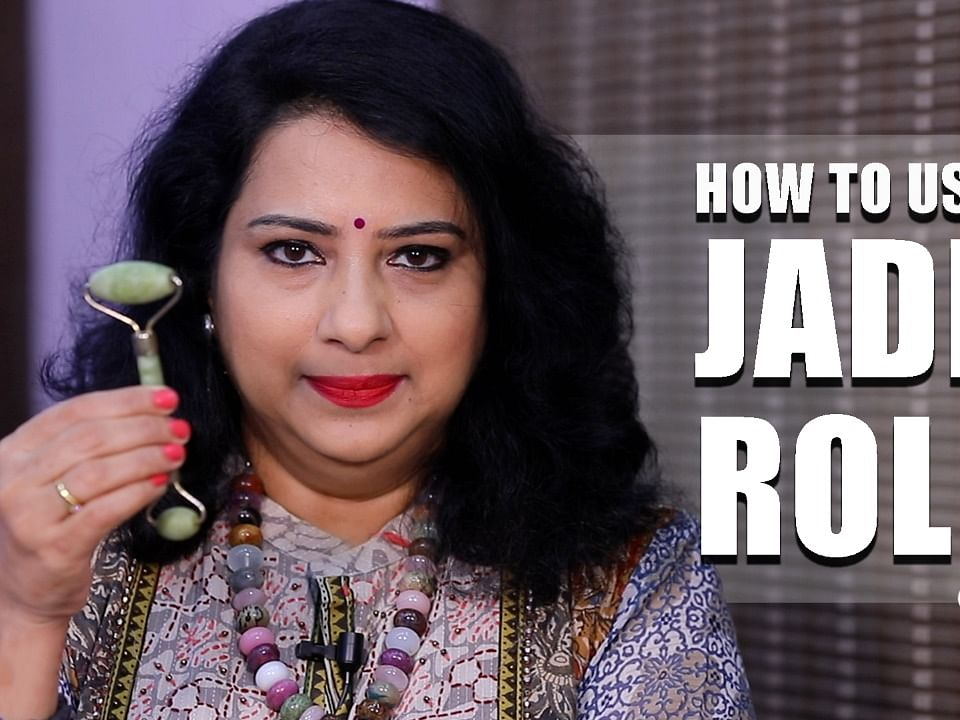Jade Roller Massage Techniques for Glowing & Wrinkle Free Skin | Vasundhara Tips | Say swag
