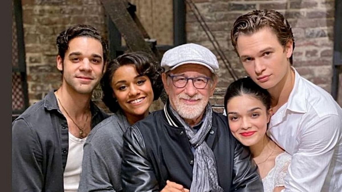 West Side Story Team with Steven Spielberg