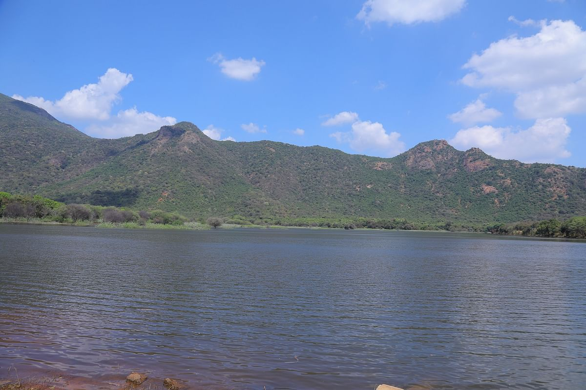 பரந்து விரிந்த முட்டல் ஏரி