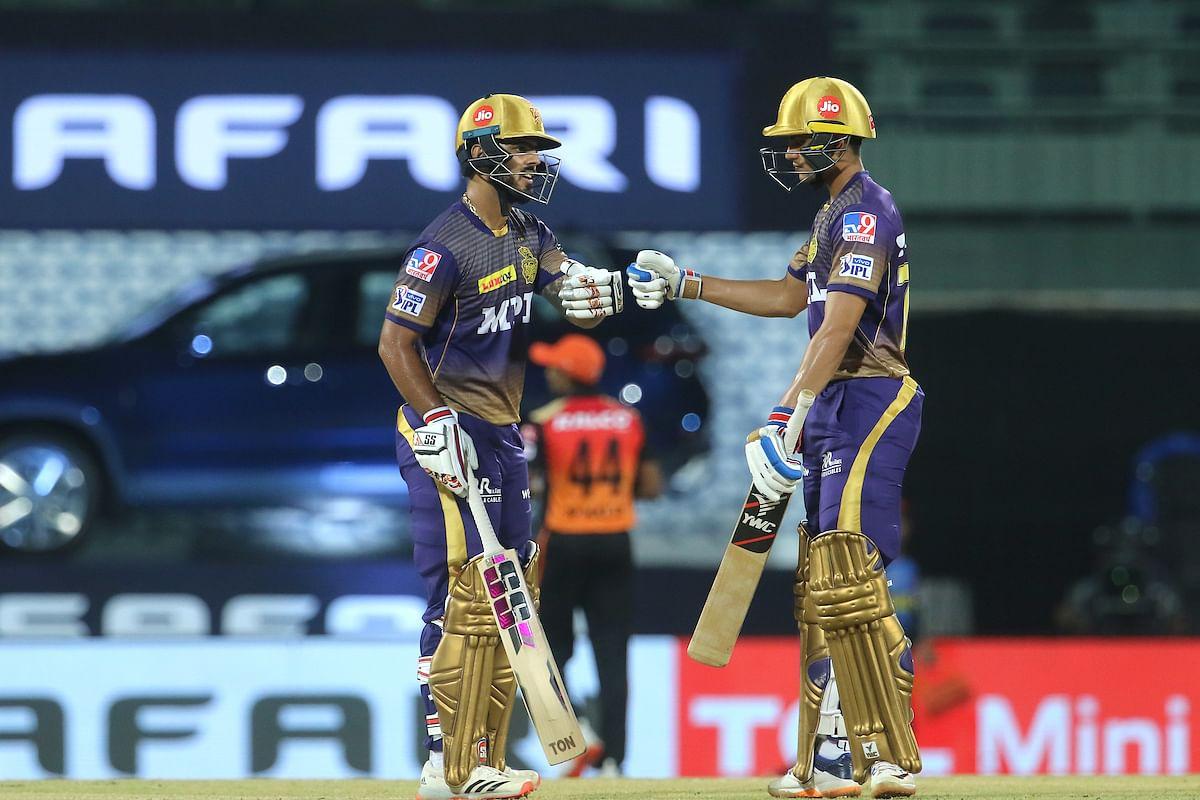 நிதிஷ் ராணா, ஷுப்மன் கில் | #SRHvKKR | IPL 2021