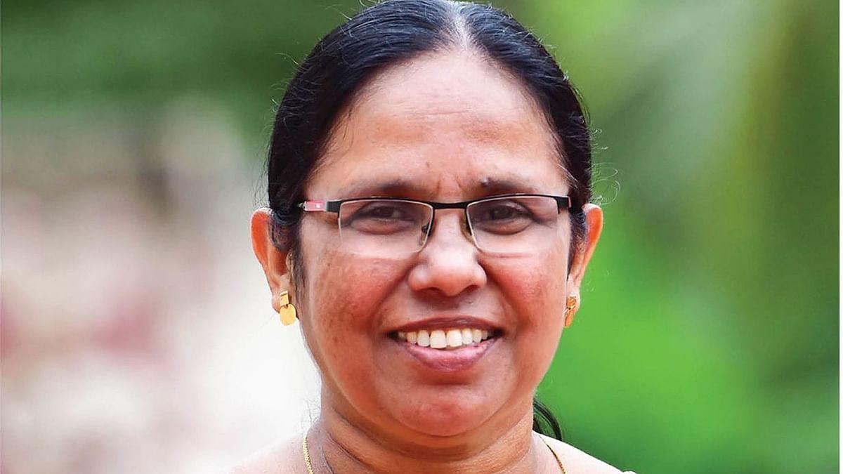 கே.கே.ஷைலஜா டீச்சர்