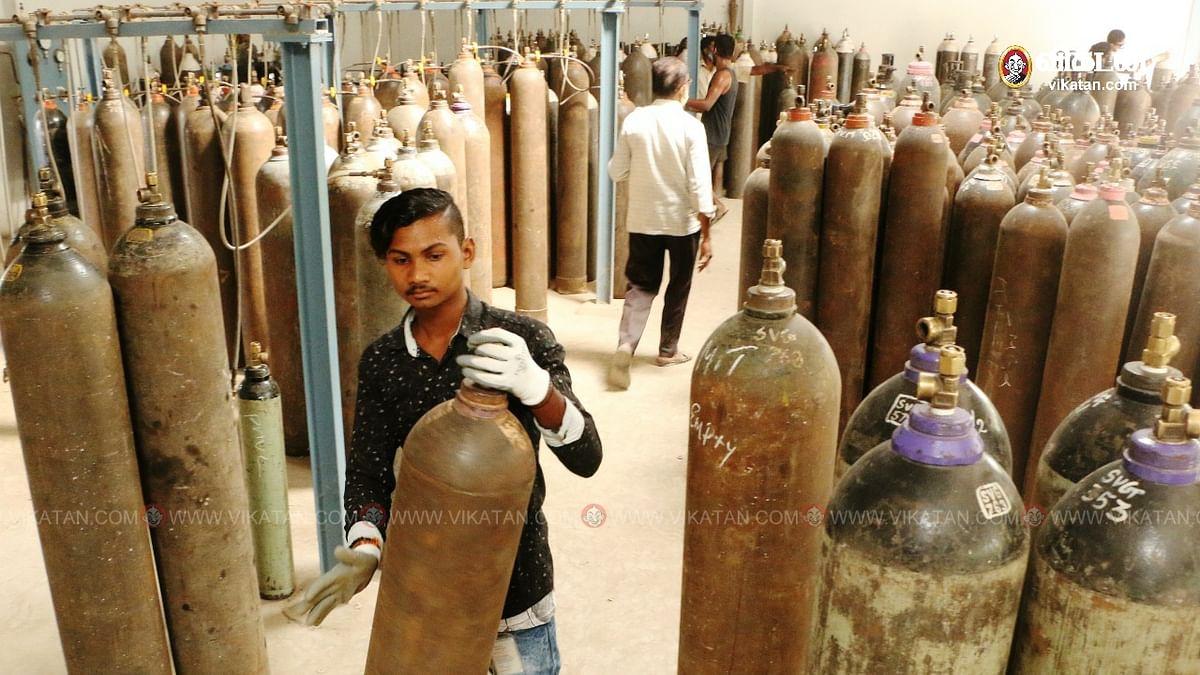 ஆக்ஸிஜன் உற்பத்தி செய்யும் தொழிற்சாலை