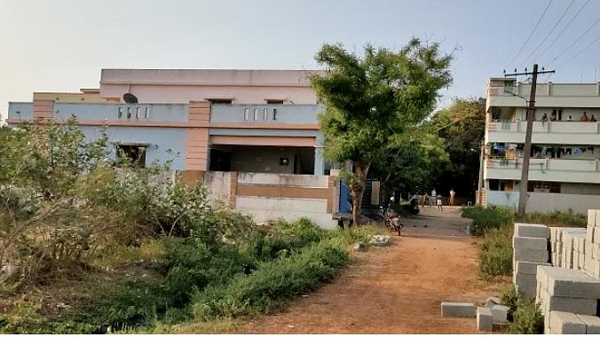 ஆந்திராவில் வெடிகுண்டு வெடித்த இடம்