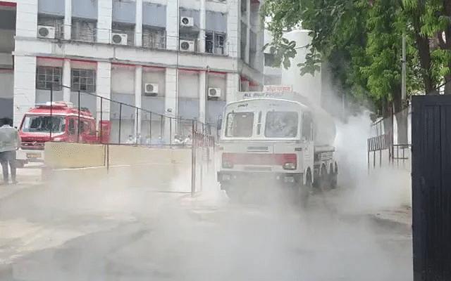 மகாராஷ்டிரா: ஆக்சிஜன் டேங்கரில் கசிவு; 22 நோயாளிகள் பலி! - நாசிக் மருத்துவமனை சோகம்