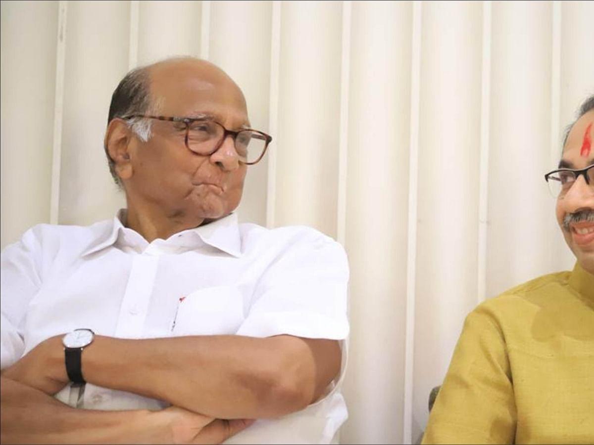 சரத் பவார் - உத்தவ் தாக்கரே