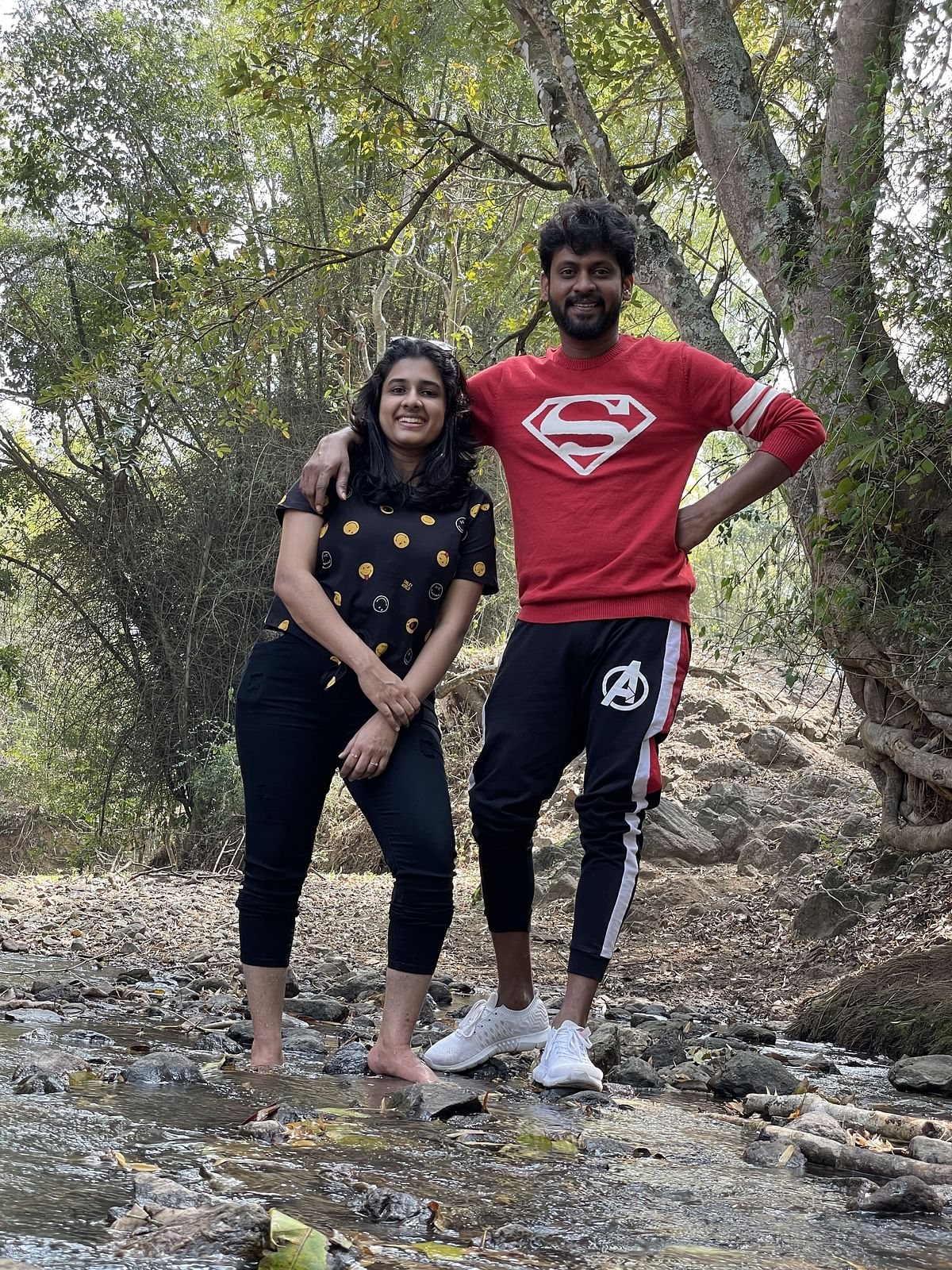 Rio with his wife