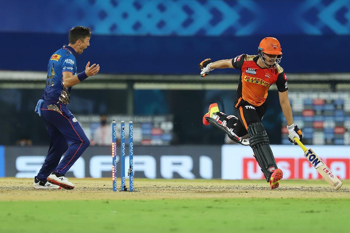 டிரென்ட் போல்ட் | MI v SRH | IPL 2021