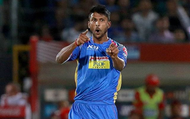 Gowtham started his IPL career with Rajasthan Royals