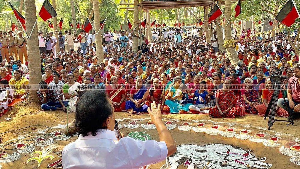 கிராமசபை கூட்டத்தில் ஸ்டாலின்