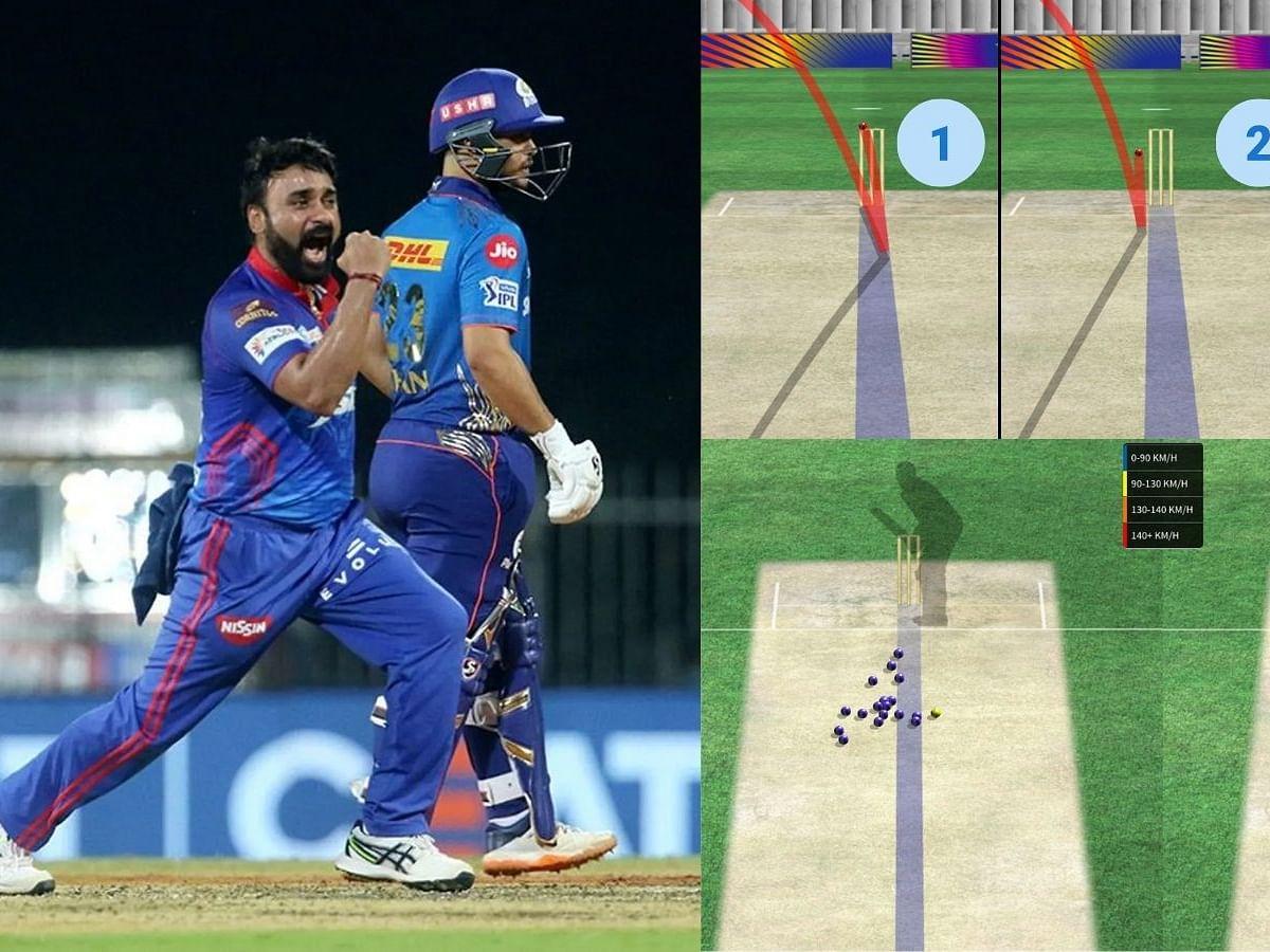 DC v MI: அமித் மிஷ்ரா, ஒற்றை ஆளாக மும்பையை காலி செய்தது எப்படி? | IPL 2021