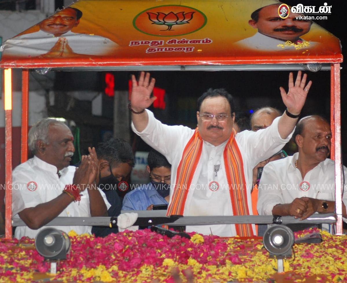 ஜே.பி.நட்டா பிரசாரம்