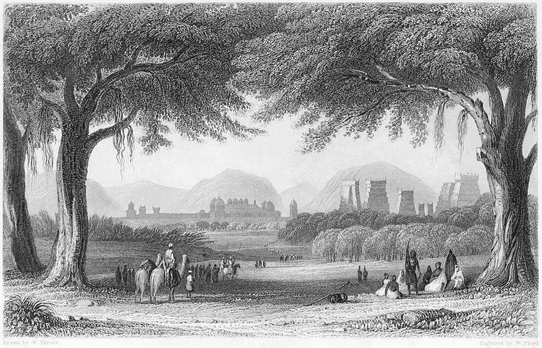 1860ல் மதுரையின் தோற்றம்