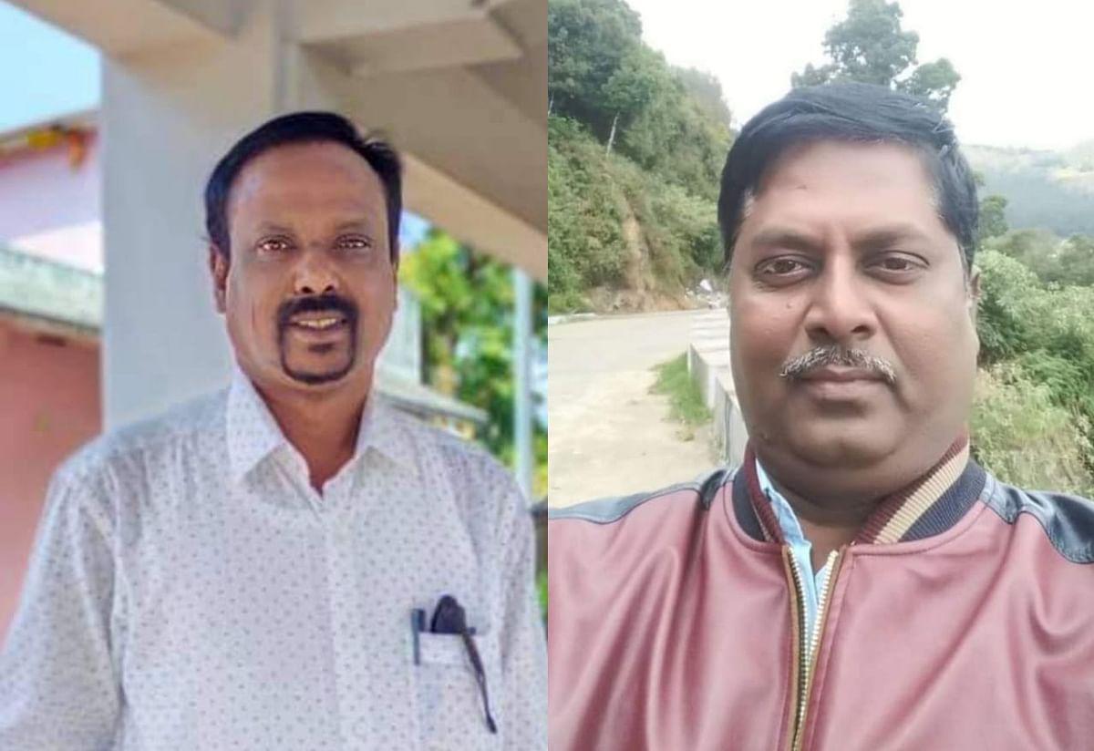 தலைமை ஆசிரியர்கள் பாக்கியசேனன்&சேகர்