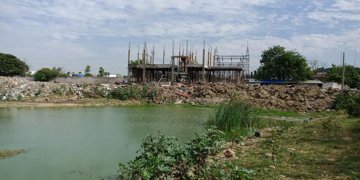 சோழிங்கநல்லூர் தாமரைக்கேணி ஏரி
