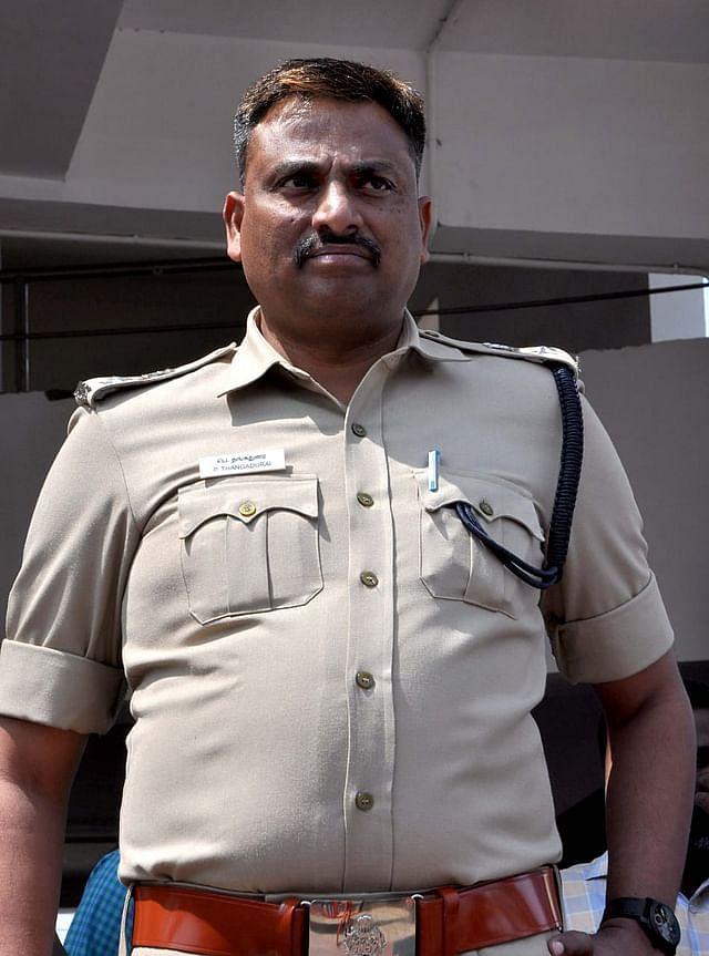 ஈரோடு எஸ்.பி தங்கதுரை