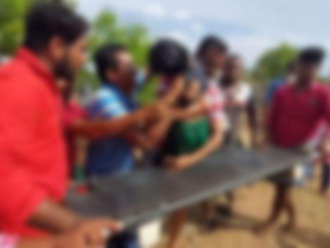 கரூர்: கொரோனா விடுமுறை;  தோட்டத்துக் கிணற்றில் நீச்சல்! - பாட்டியோடு பேத்தியும் பலியான சோகம்