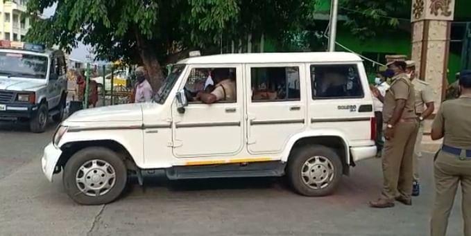 விசாரிக்கவந்த ஏ.டி.எஸ்.பி சங்கரன்