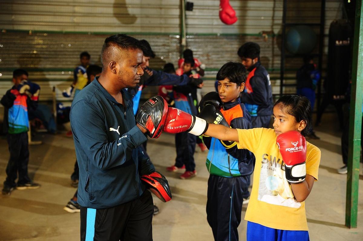 ராஜேஷ் நடத்தும் பயிற்சி மையம்