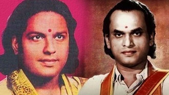 பி.யு சின்னப்பா, தியாகராஜ பாகவதர்