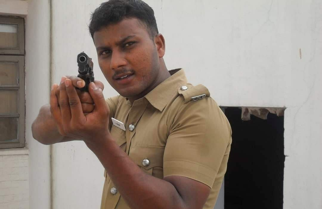 போலீஸ் ஜீப் டிரைவர் ராஜ்குமார்