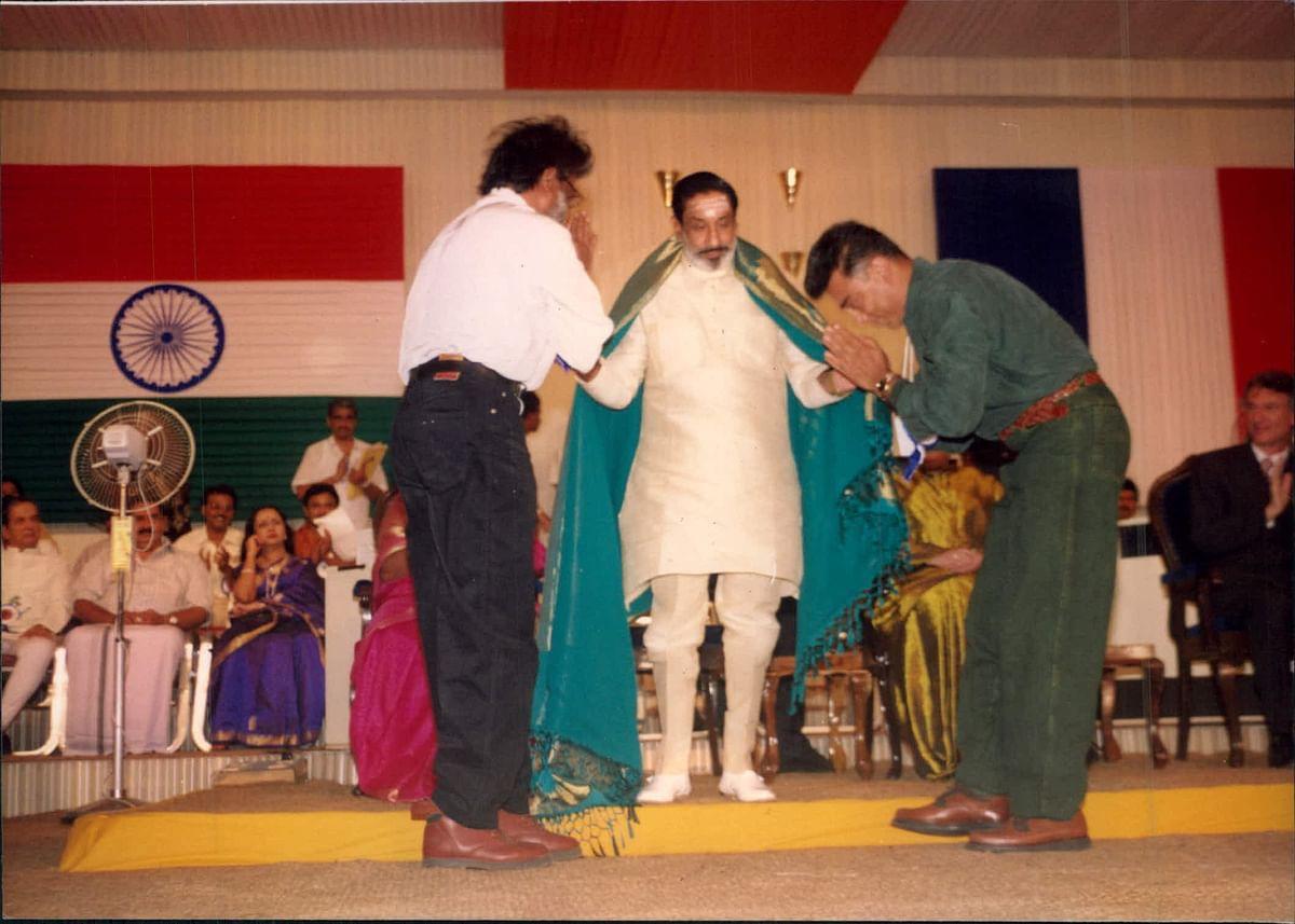 சிவாஜி கணேசன், ரஜினி, கமல்