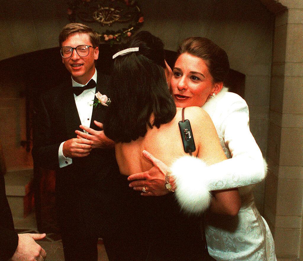 Bill and Melinda Gates in 1994