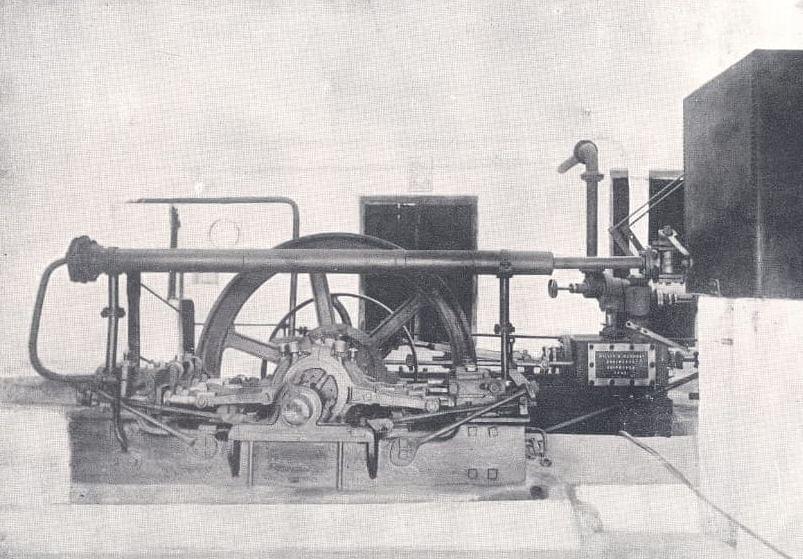 1890களில் இயங்கிய எஞ்ஜின்