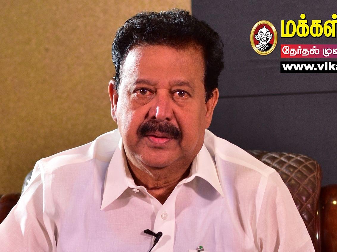 கல்லூரிப் பேராசிரியர் டு அமைச்சர்... திருக்கோவிலுார் தொகுதியை வென்ற பொன்முடி! #TNelections2021