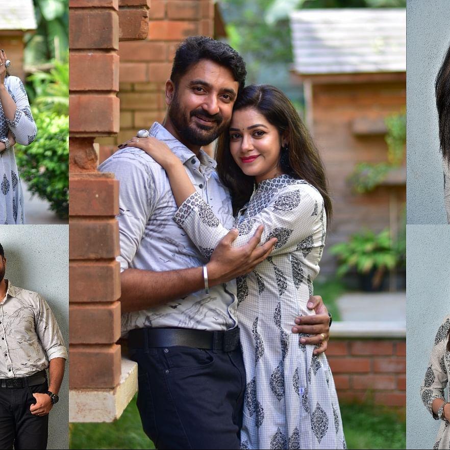 Chaya Singh with her husband krishna