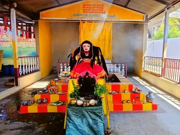 கோவை: கொரோனா தேவி சிலை..! 48 நாள்கள் மகா யாகம்..!