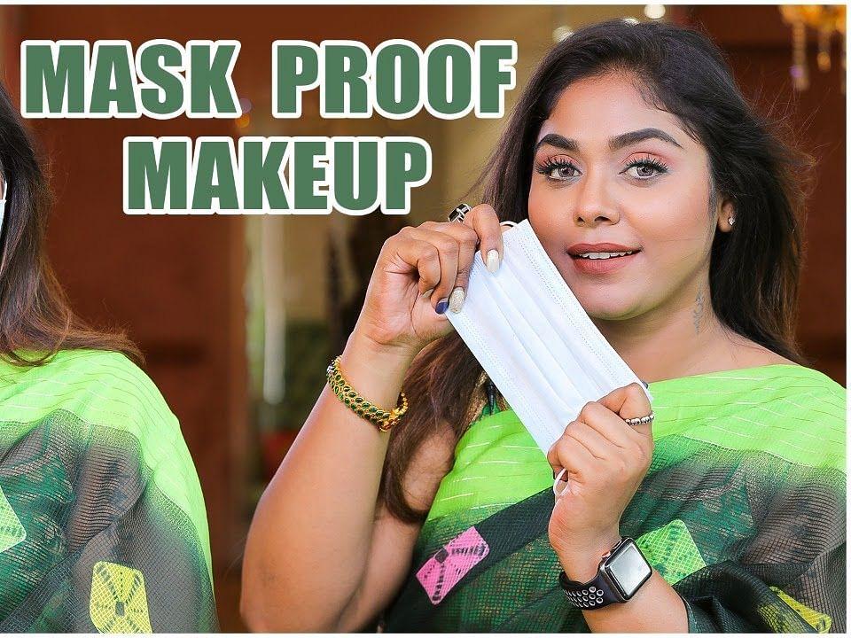 Easy Hacks To Do Transfer Proof Makeup   Mask Makeup 😷 Tips & Tricks Revealed   Say swag