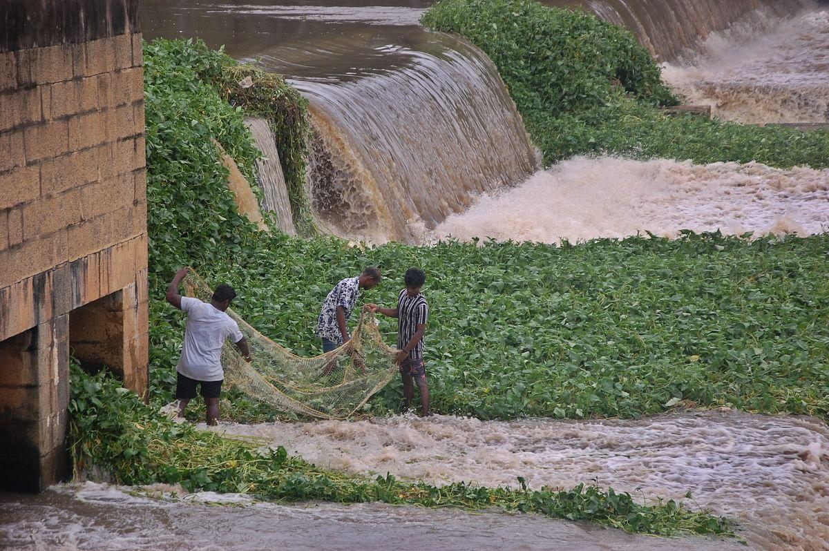 கன்னியாகுமரியில் பெய்துவரும் கனமழை